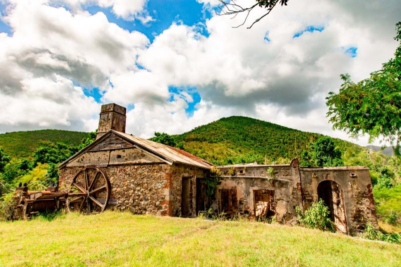 virgin islands national park reef bay sugar mill ruins
