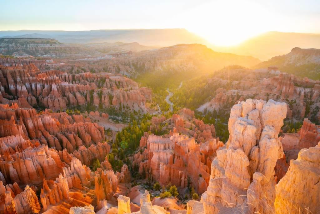 sunrise bryce canyon national park
