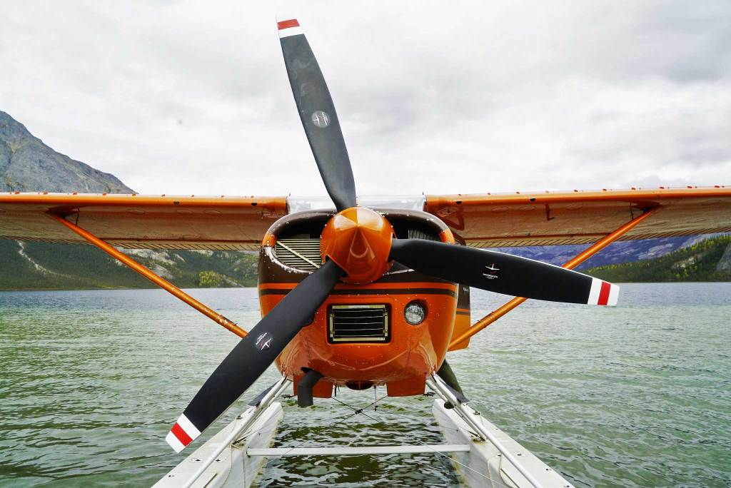 flight gates of the arctic national park alaska