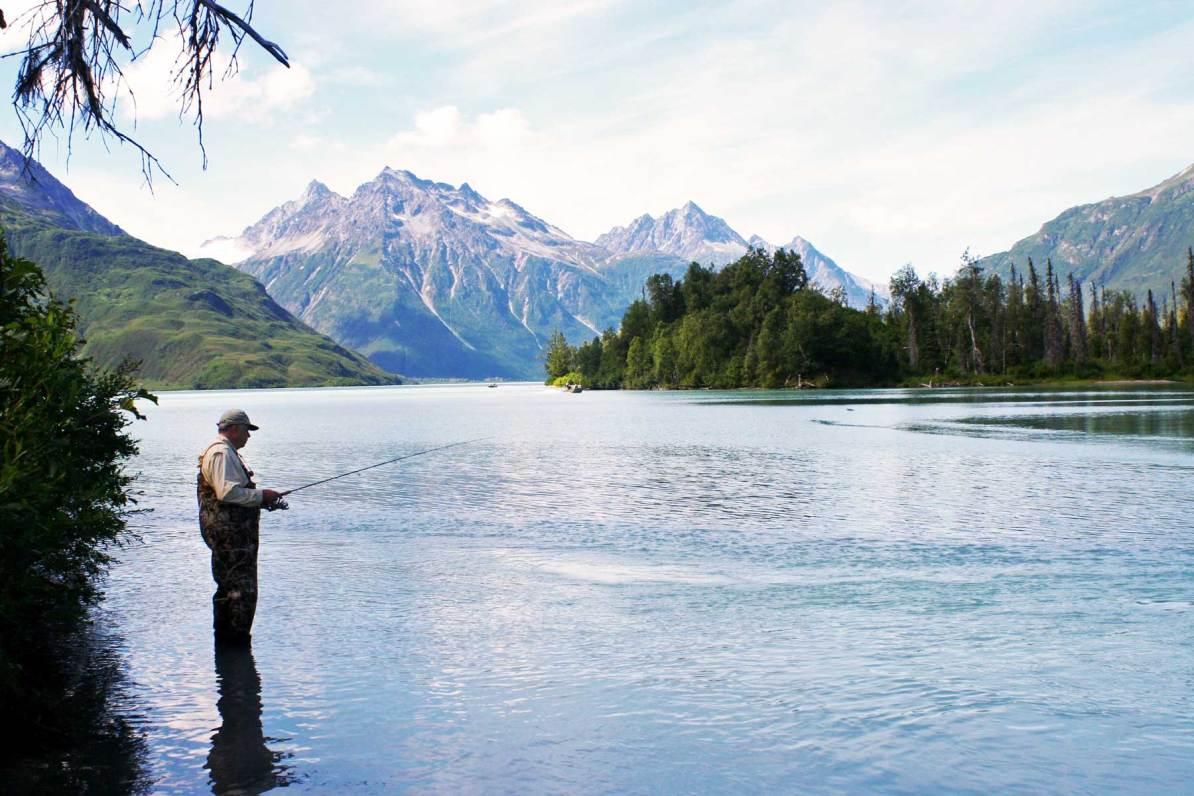 fishing lake clark national park alaska