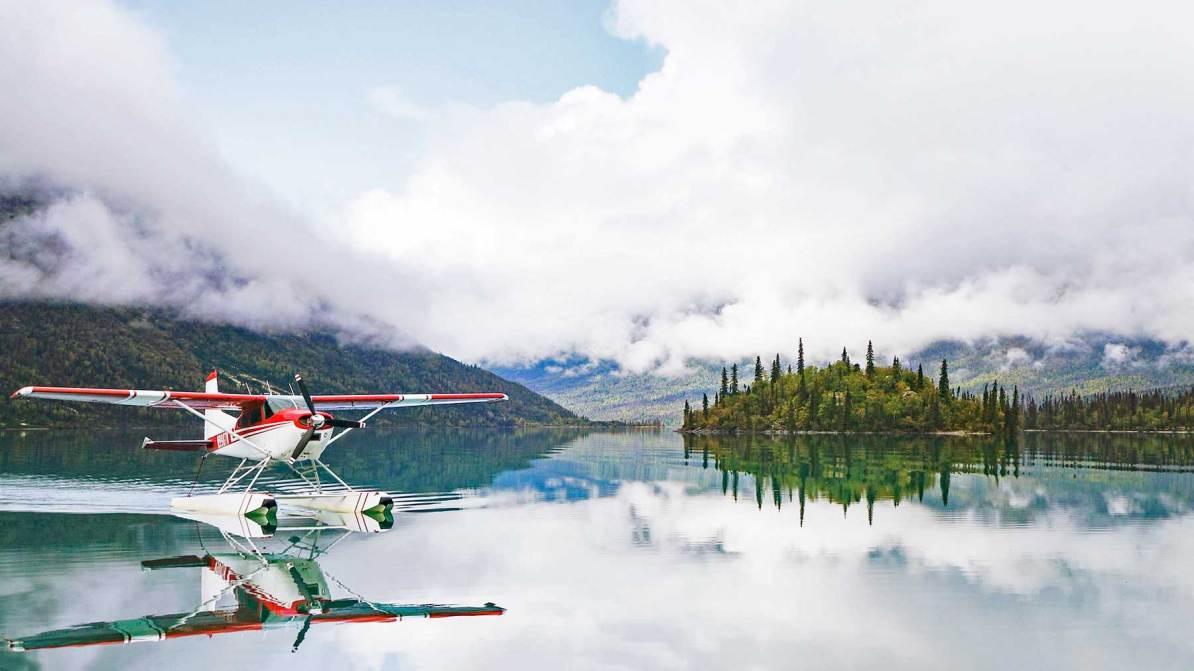 lake clark national park flight, float plane