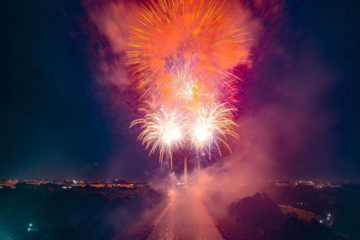 national mall fireworks washington dc 4th of july