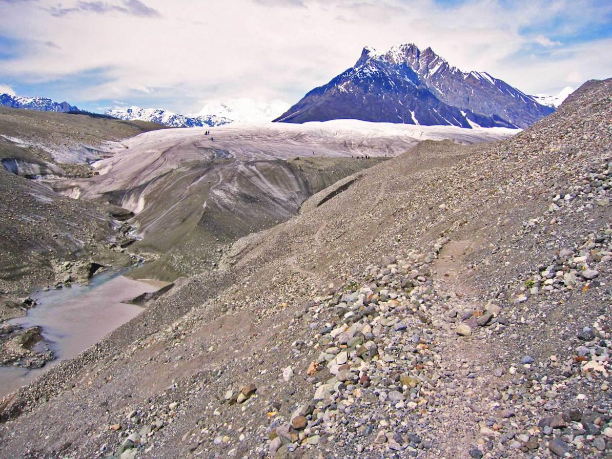 root glaicer trail wrangell st elias national park alaska