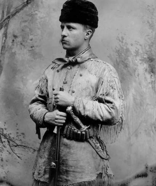 young theodore roosevelt, famous environmentalist
