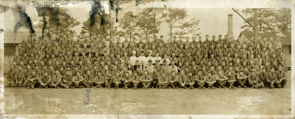 The young men of FDR's Civilian Conservation Corps were on the frontlines of the Green New Deal as they battled a changing climate.