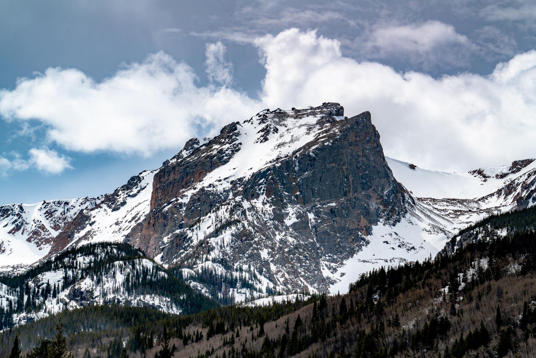 flat top mountain rocky mountain national park
