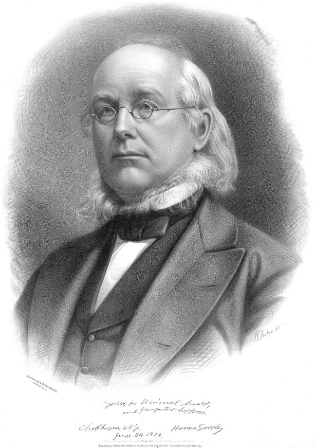 Yosemite National Park Facts include that Horace Greeley visited the park and wrote of its wonders.