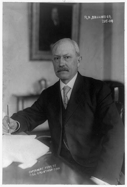 Interior Secretary Richard Ballinger wanted the city of San Francsico to show cause for its proposal to dam the Hetchy Hetchy.