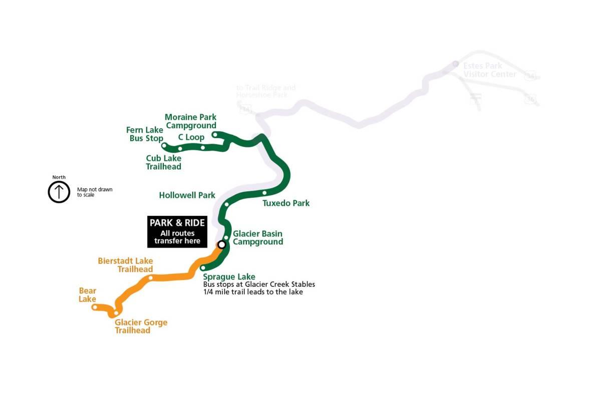 rocky mountain national park shuttle system