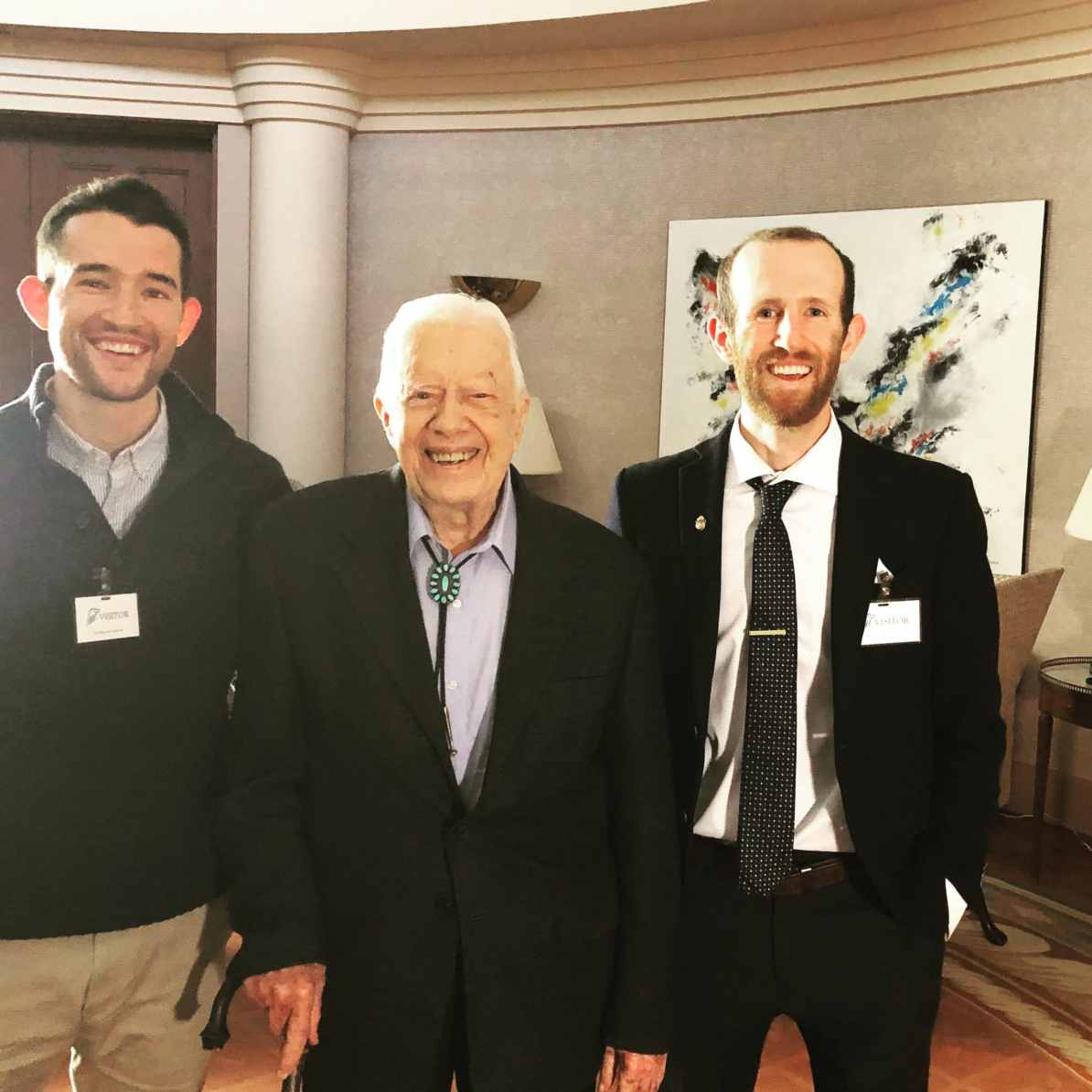 The Pattiz Brothers with America's 39th President   Georgia National Parks