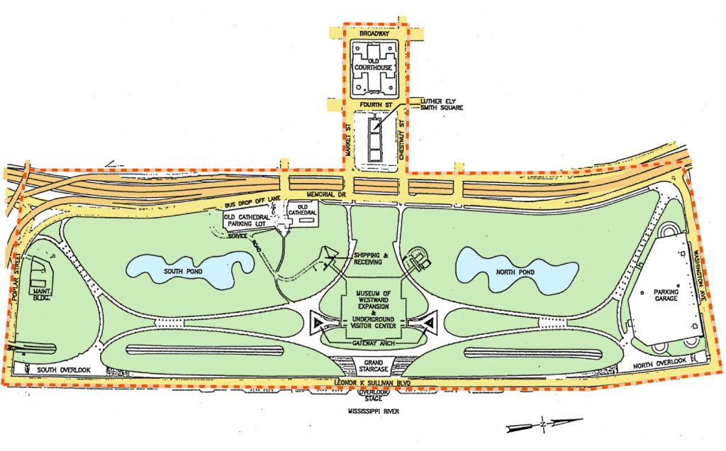 The Jefferson National Expansion Memorial   Missouri National Parks