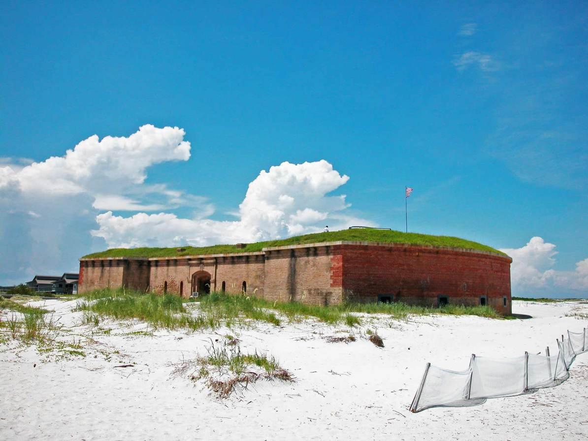 fort massachusetts gulf islands national seashore mississippi