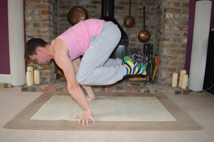 Planche Frog Stand Locked Arm More Than Lifting