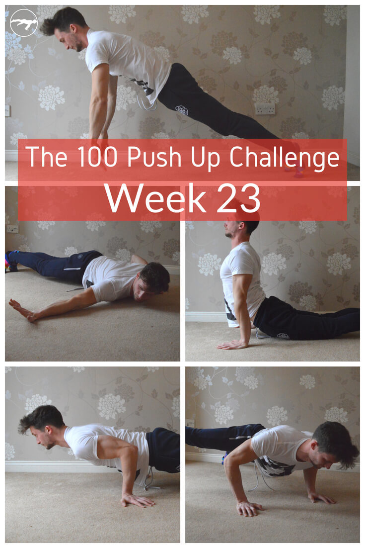 The 100 Push Up Challenge Week 23 – More Than Lifting