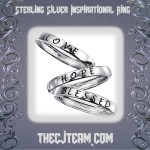 Sterling Silver Inspirational Ring