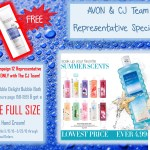 Avon Representative Special with The CJ Team C12