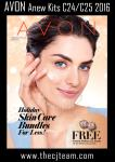 Avon Holiday Skin Care Bundles C24/25 2016