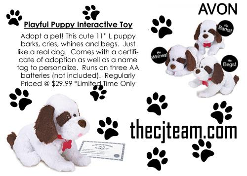 Playful Puppy Interactive Toy IG