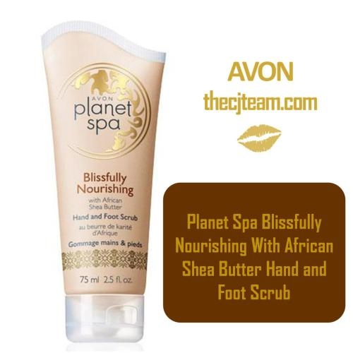 Planet Spa Blissfully Nourishing With African Shea Butter Hand and Foot Scrub x