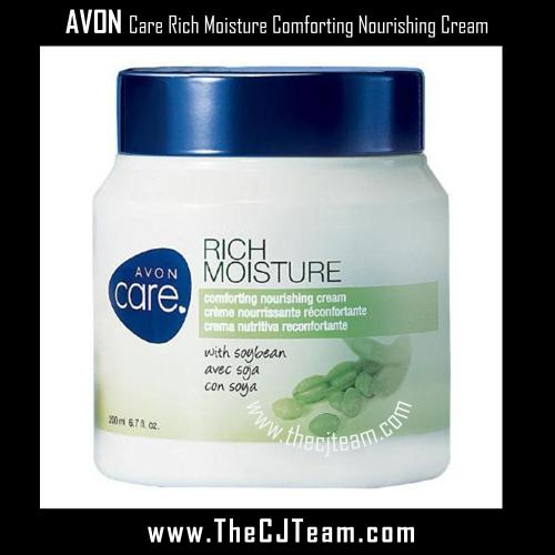 Avon Care Rich Moisture Comforting Nourishing Cream x