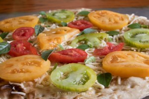 Create A Tri-Color Flatbread Tonight