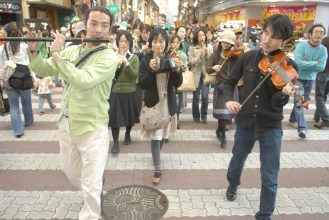 St. Patricks Day Parade in Osu, Nagoya