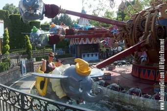 Both Max and my first time on Dumbo!