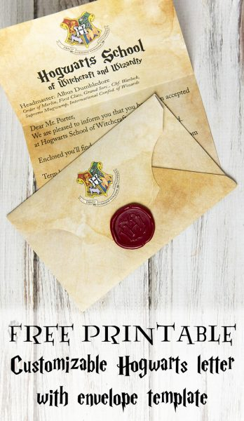 image relating to Hogwarts Letter Printable identified as Produce A Hogwarts Popularity Letter On line