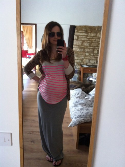 how to dress a bump