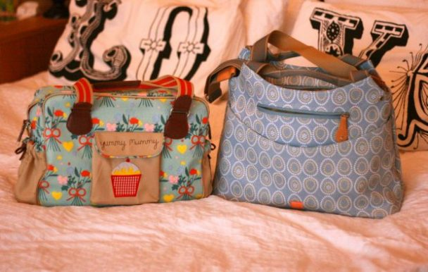 Pink Lining and Pacapod changing bag