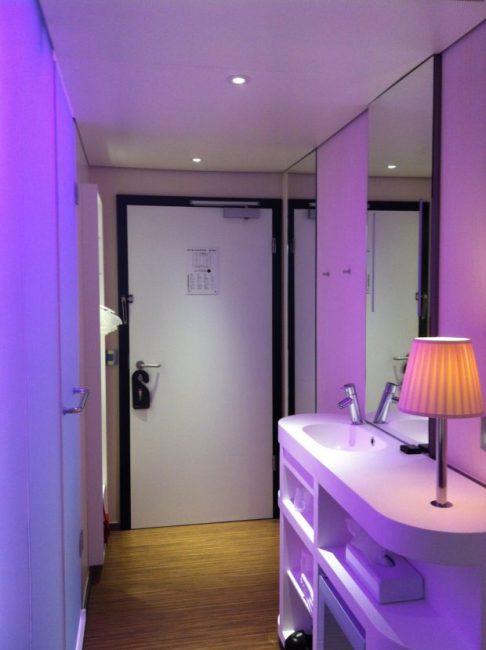 CitizenM, London hotel room