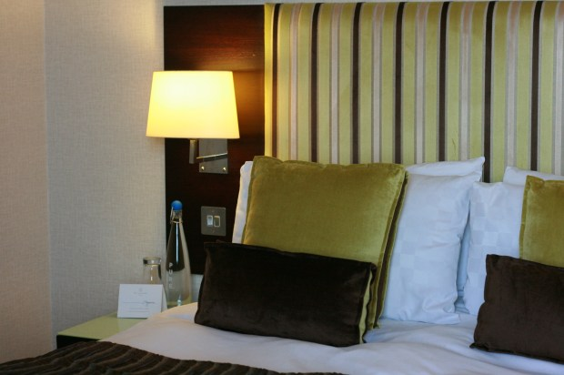 Bed at The Cavendish London