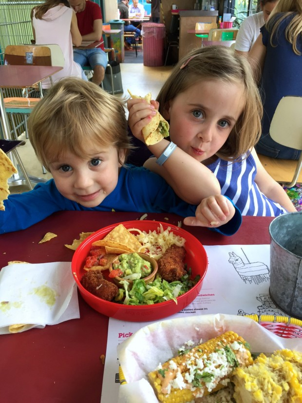 Wahaca Southbank kids menu