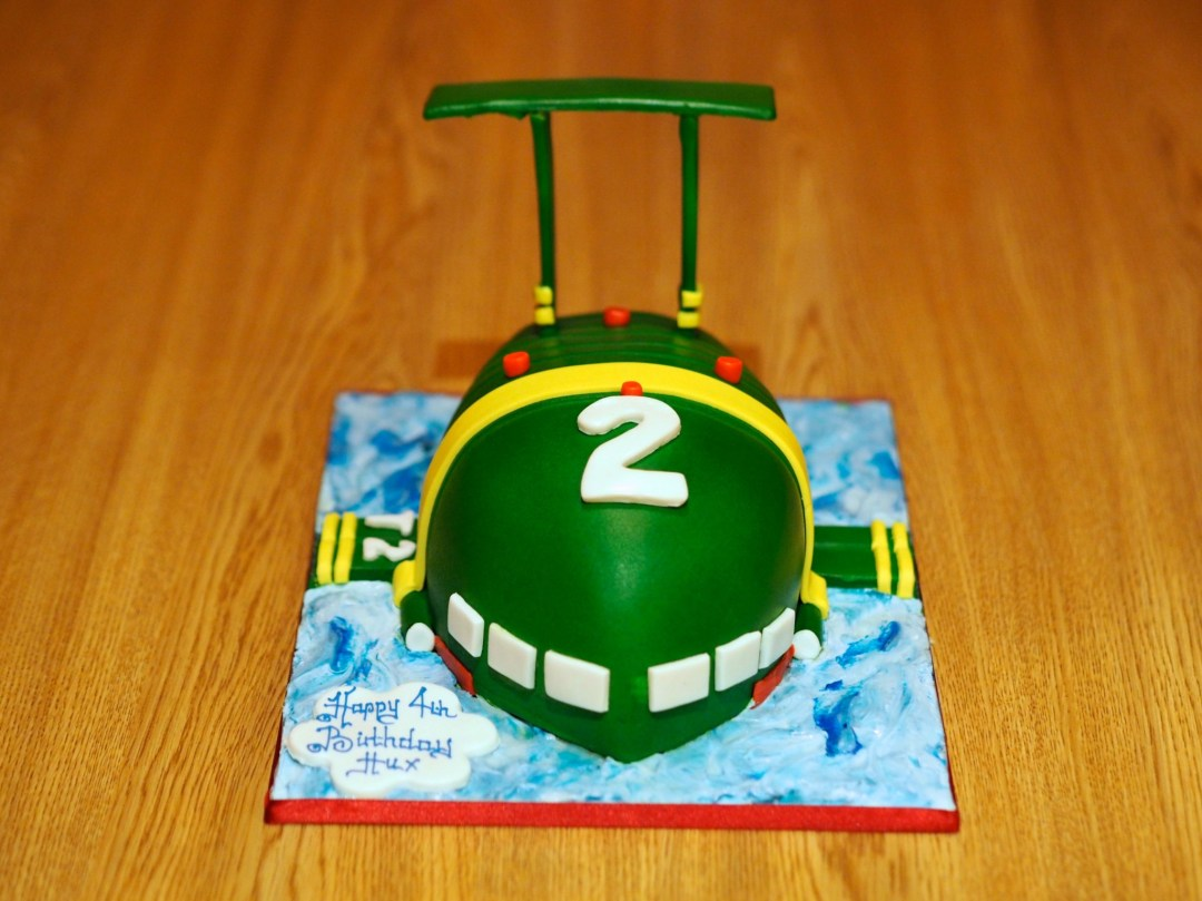 Thunderbirds 2 birthday cake