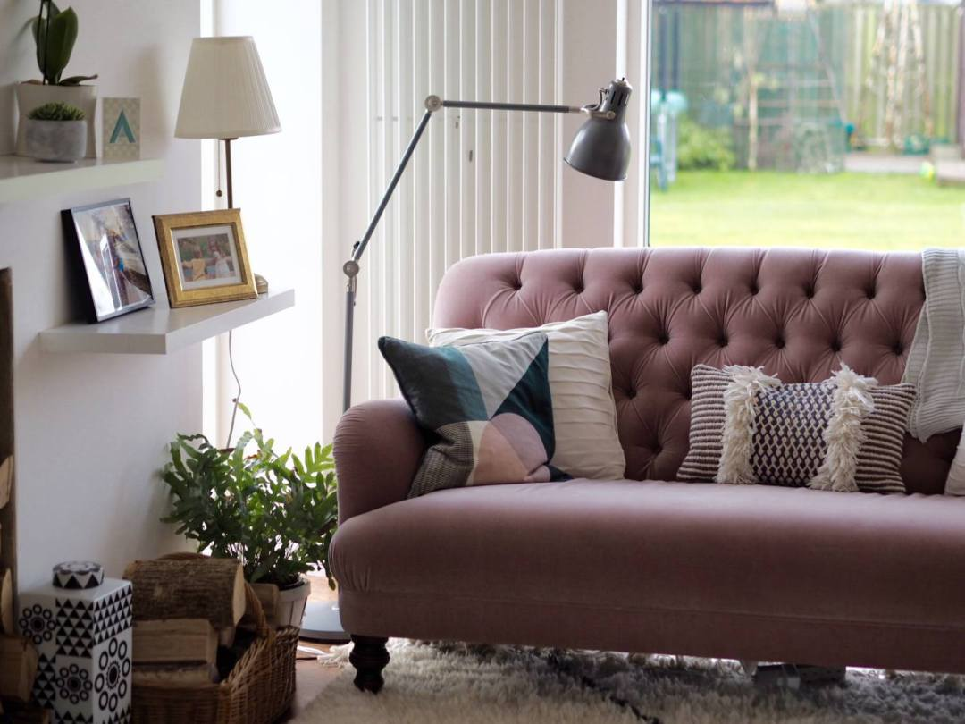 The Pink Sofa