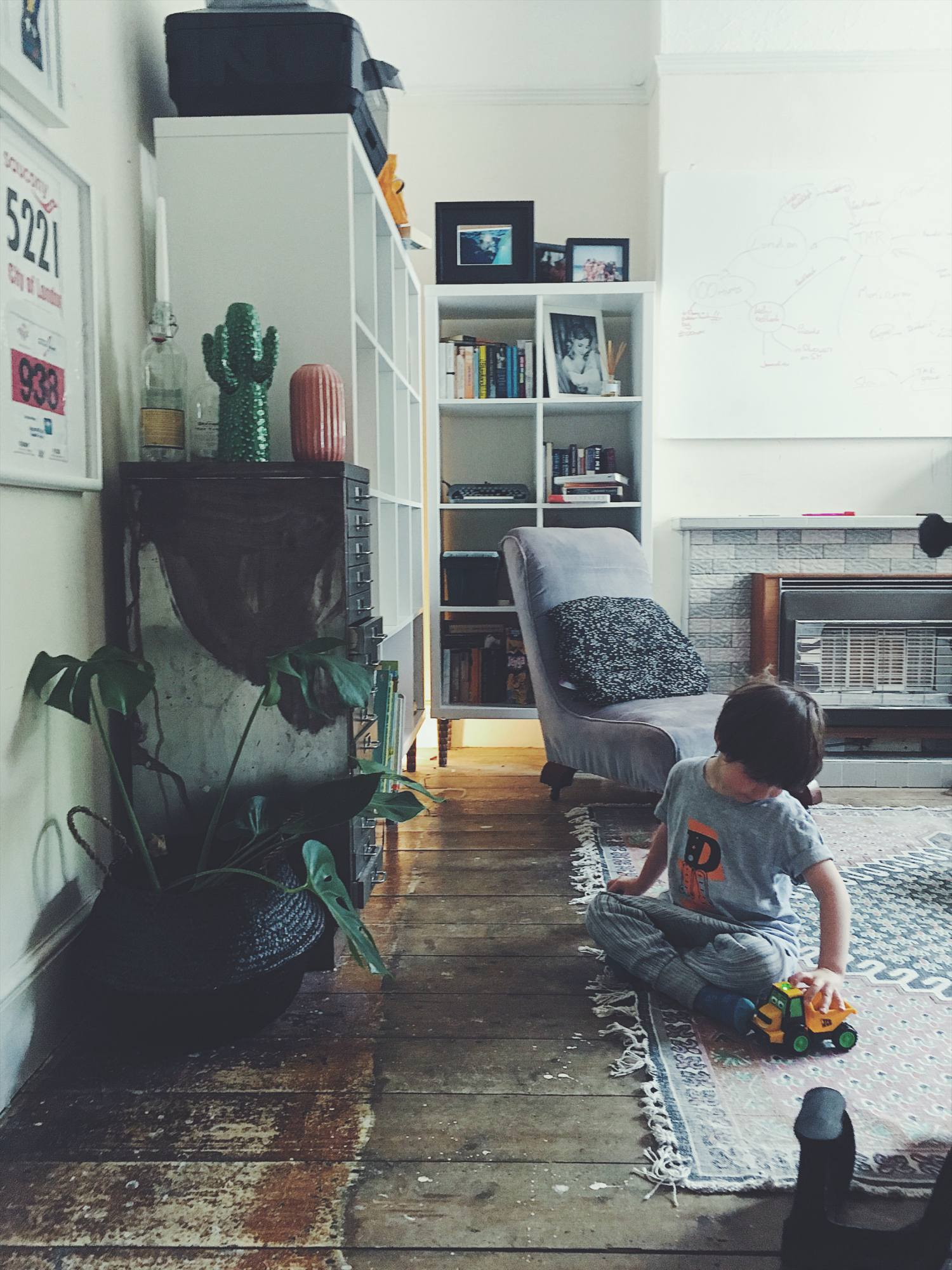 eclectic family home