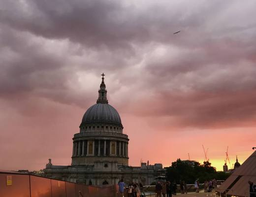Sundown at St Paul's
