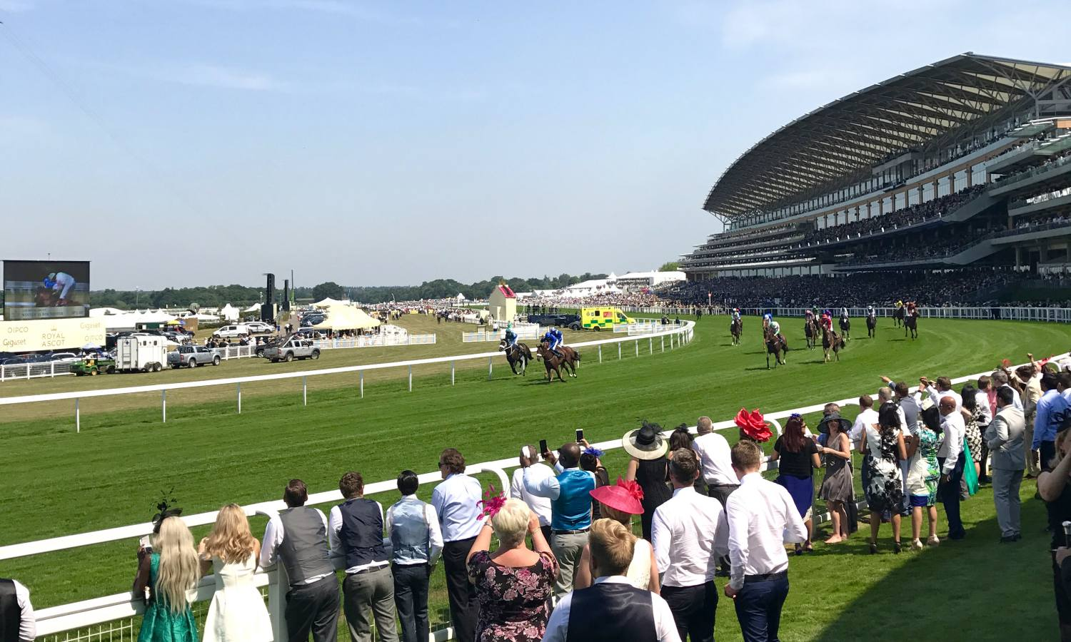 Royal Ascot with Christie