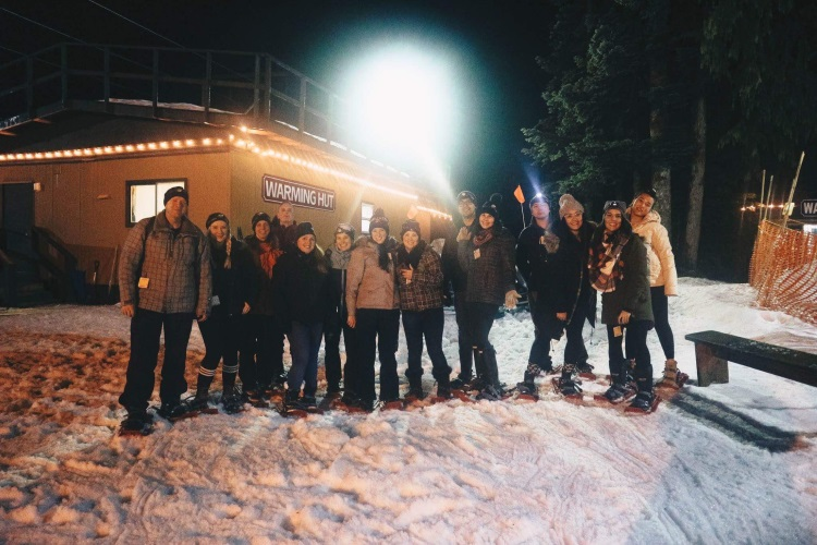 Cypress Mountain Snowshoe & Fondue Tour