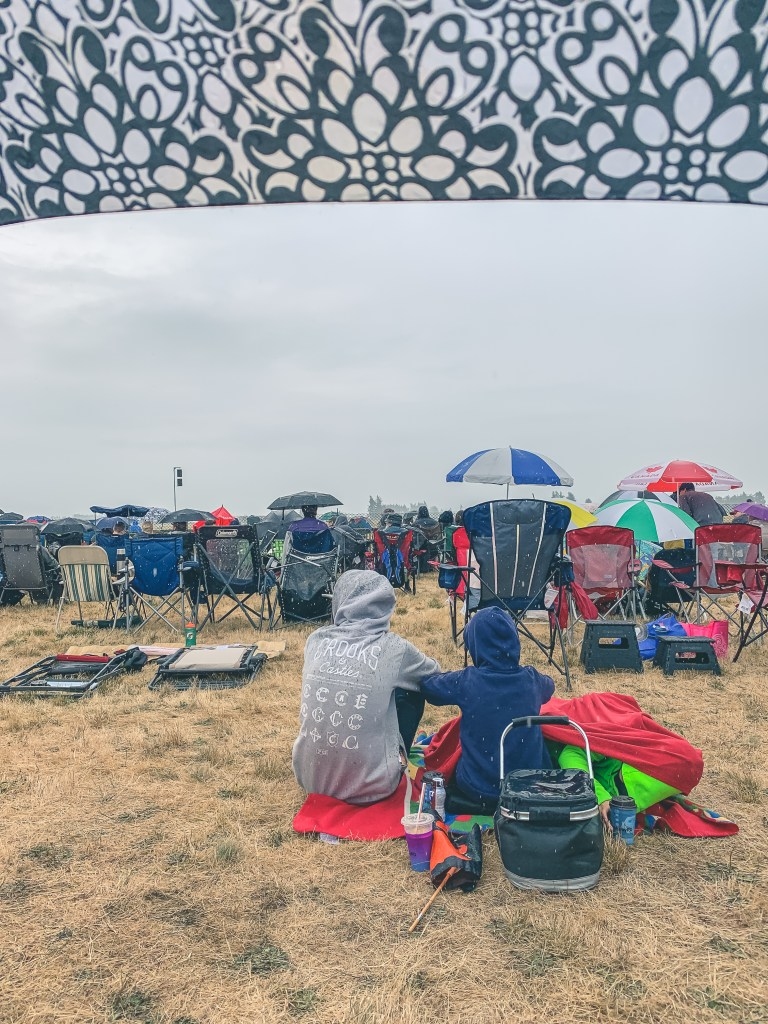 General Admission seating at the Airshow