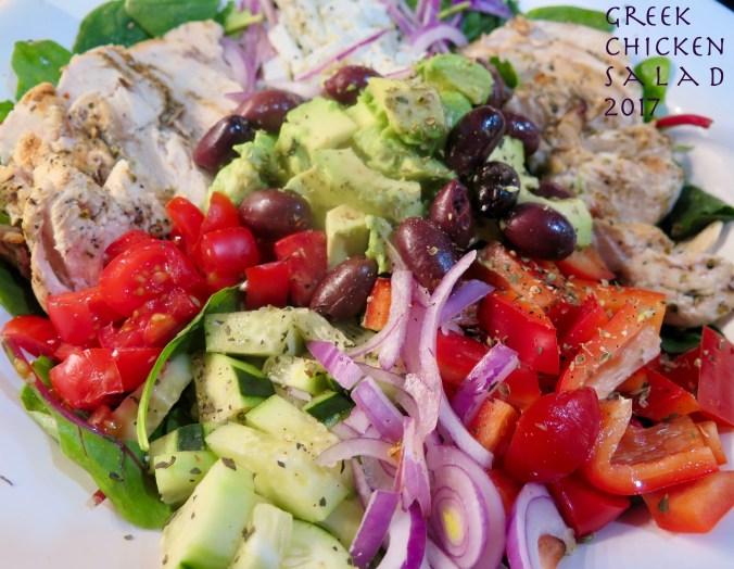 Food-Salad-Greek Chicken '17