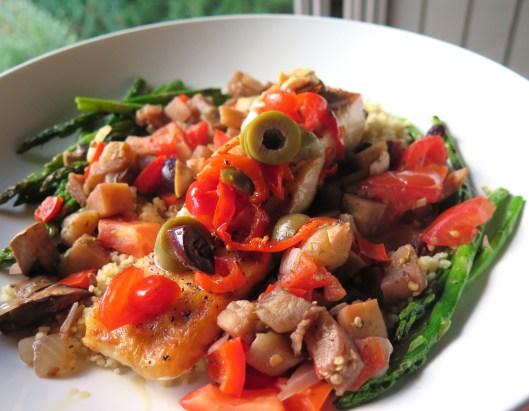 Food-Salmon-Eggplant