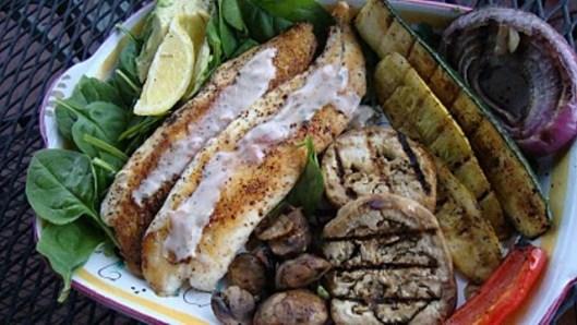 food-fish-taco-salad