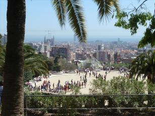 Sagrada Familia from the Park Guell