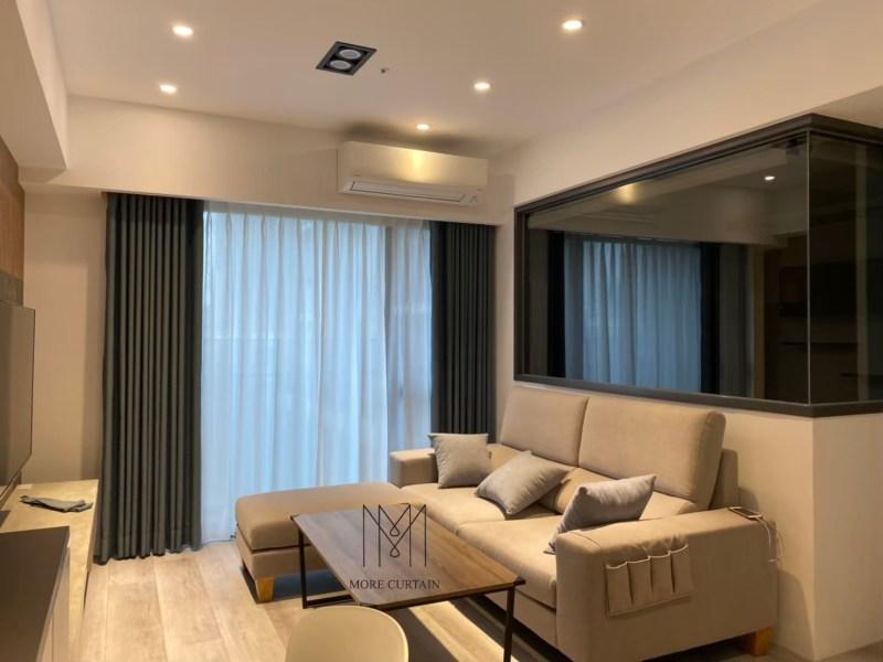 竹北窗簾布推薦-竹北窗簾免費丈量-竹北遮光防曬窗簾