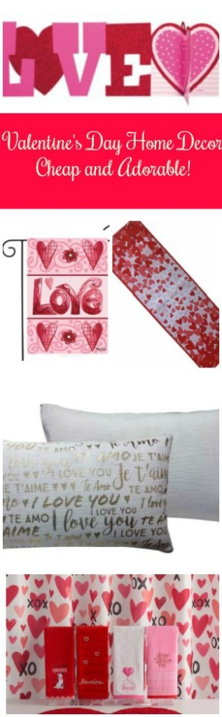 Valentine's Day decor makes everyone smile. Add some small touches without a strain on your wallet. Check out Valentine's Day Home Decor: Cheap and Adorable! From Target, Kohl's, Walmart & Amazon.