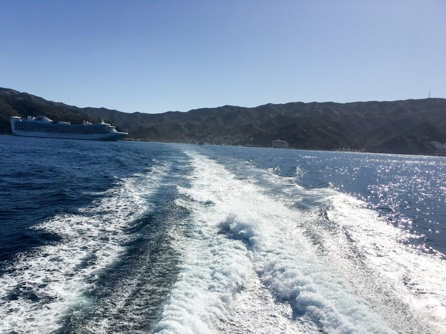 Leaving Catalina Island