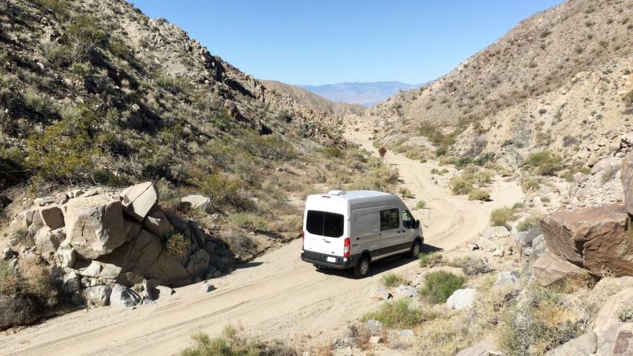 Gidget in Berdoo Canyon