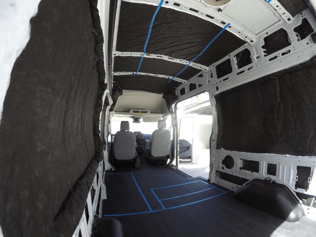 Interior Deck Floor Mat For 148 Quot Cargo Van Ford Transit