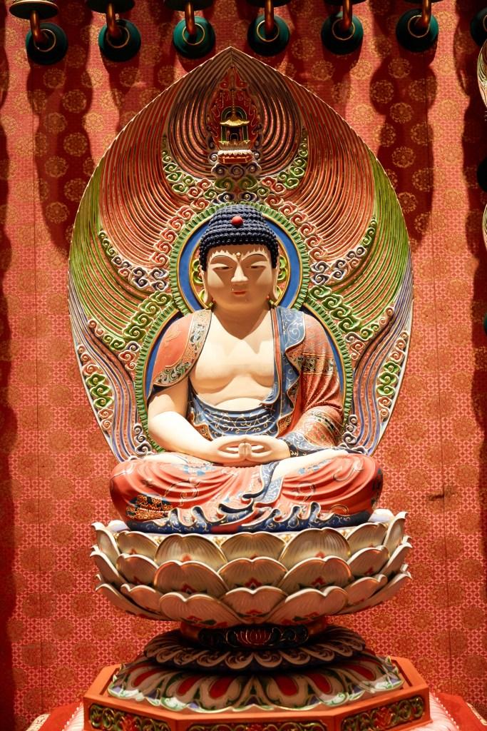 Statue at Buddhist Center